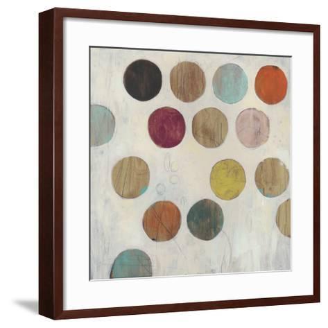Dot Matrix III-June Erica Vess-Framed Art Print