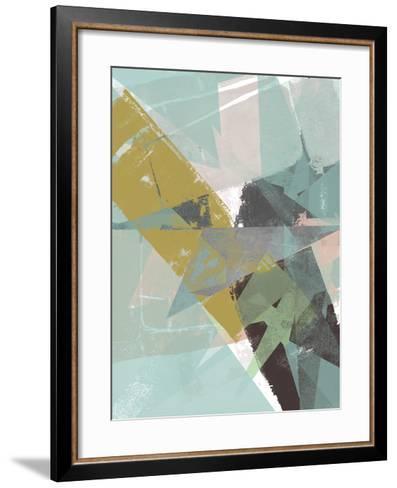 Color Patches II-Jennifer Goldberger-Framed Art Print
