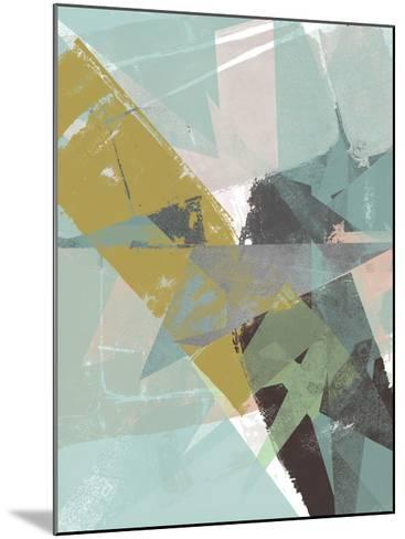 Color Patches II-Jennifer Goldberger-Mounted Art Print