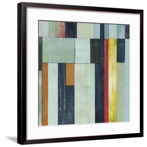 Geometric Conglomeration II-Grace Popp-Framed Art Print