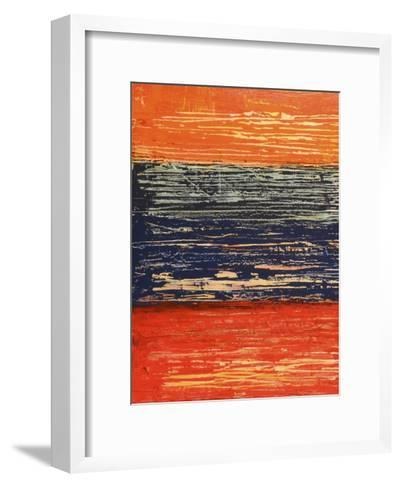 Electric Morning I-Natalie Avondet-Framed Art Print
