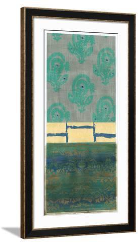 Gilded Paradise I-Chariklia Zarris-Framed Art Print