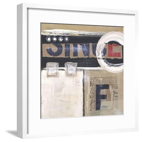 Abstract Inspiration I-Irena Orlov-Framed Art Print
