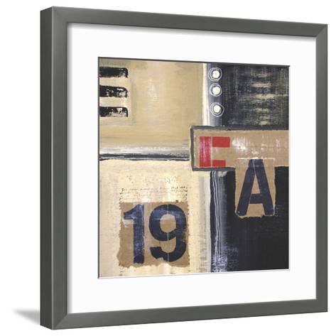 Abstract Inspiration II-Irena Orlov-Framed Art Print
