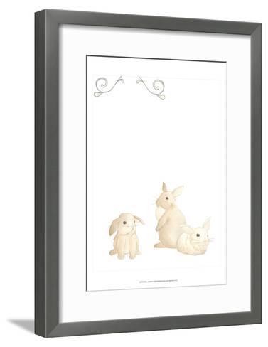 Baby Animals I-June Erica Vess-Framed Art Print