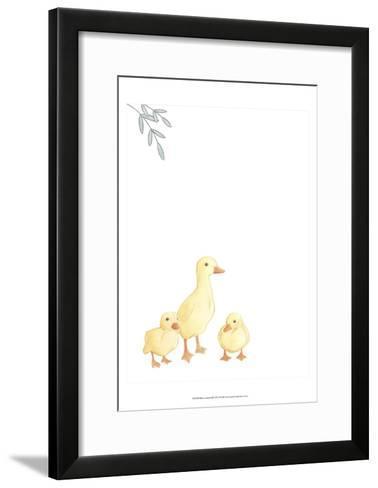 Baby Animals III-June Erica Vess-Framed Art Print