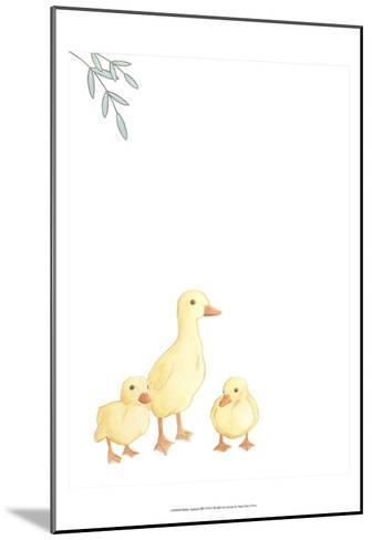 Baby Animals III-June Erica Vess-Mounted Art Print
