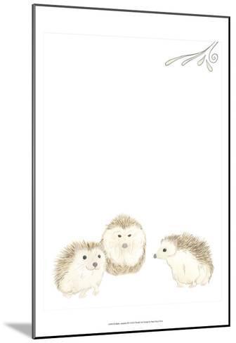 Baby Animals IV-June Erica Vess-Mounted Art Print