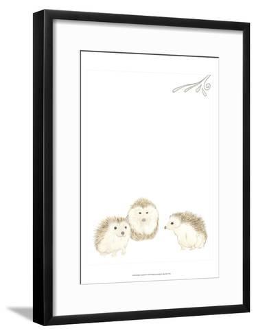 Baby Animals IV-June Erica Vess-Framed Art Print