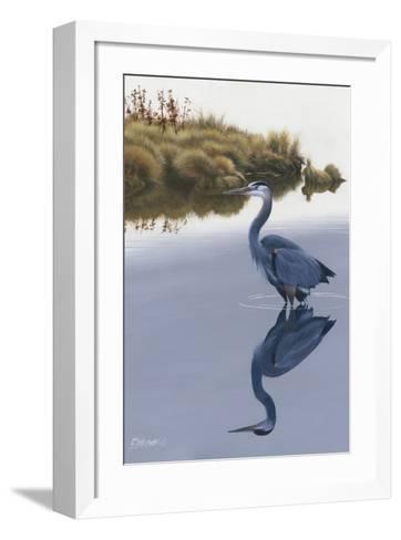 Blackwater Reflections II-Fred Szatkowski-Framed Art Print