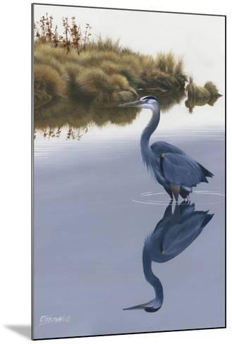 Blackwater Reflections II-Fred Szatkowski-Mounted Giclee Print