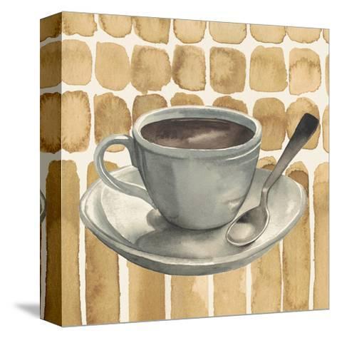 Cafe au Lait II-Grace Popp-Stretched Canvas Print