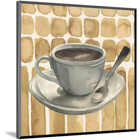 Cafe au Lait II-Grace Popp-Mounted Art Print