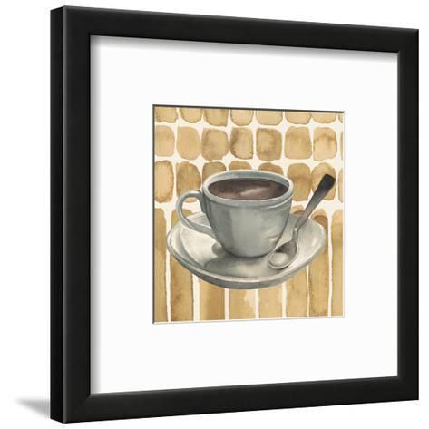 Cafe au Lait II-Grace Popp-Framed Art Print