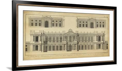 Elevation du Grand Hotel-Denis Diderot-Framed Art Print