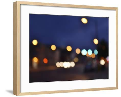 Bokeh Abstract VIII-Sharon Chandler-Framed Art Print