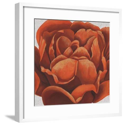 Fiery Floral II-Grace Popp-Framed Art Print