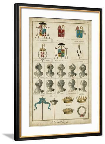 Art Heraldique I--Framed Art Print