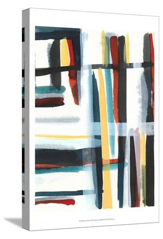 Book Shelf I-Jodi Fuchs-Stretched Canvas Print