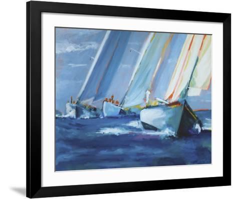 Beating I-Curt Crain-Framed Art Print