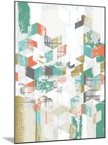 Box Grid I-Jennifer Goldberger-Mounted Art Print