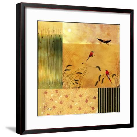 Bee Eaters--Framed Art Print
