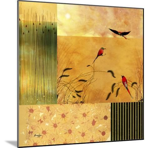 Bee Eaters--Mounted Art Print