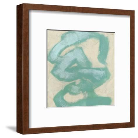 Gestural V-June Erica Vess-Framed Art Print