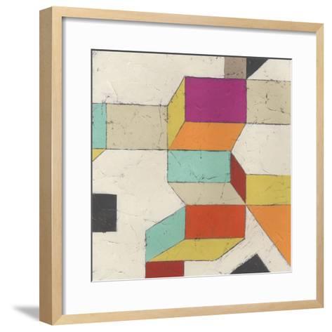 Tessellate IV-June Erica Vess-Framed Art Print