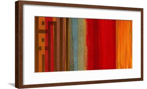 The Language of Color I-Irena Orlov-Framed Art Print