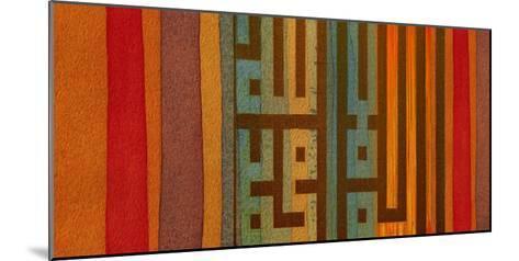 The Language of Color II-Irena Orlov-Mounted Giclee Print