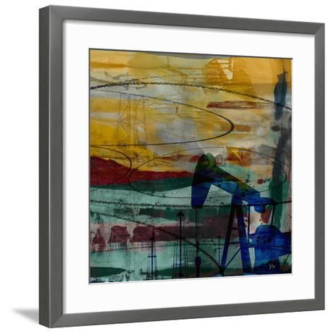 Oil Rig Abstract-Sisa Jasper-Framed Art Print