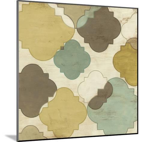 Quatrefoil Overlay IV-June Erica Vess-Mounted Giclee Print