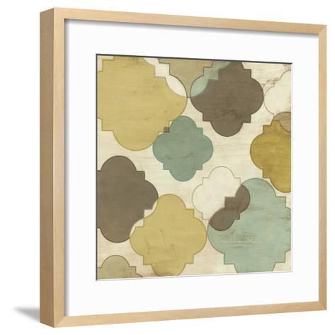 Quatrefoil Overlay IV-June Erica Vess-Framed Art Print