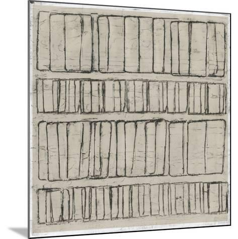 Seismic Rows I-Jenna Guthrie-Mounted Art Print