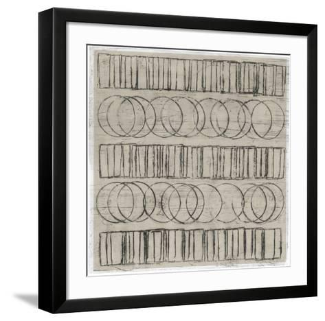 Seismic Rows IV-Jenna Guthrie-Framed Art Print