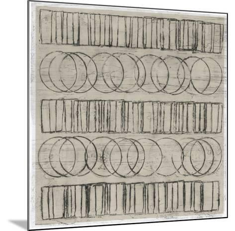 Seismic Rows IV-Jenna Guthrie-Mounted Art Print