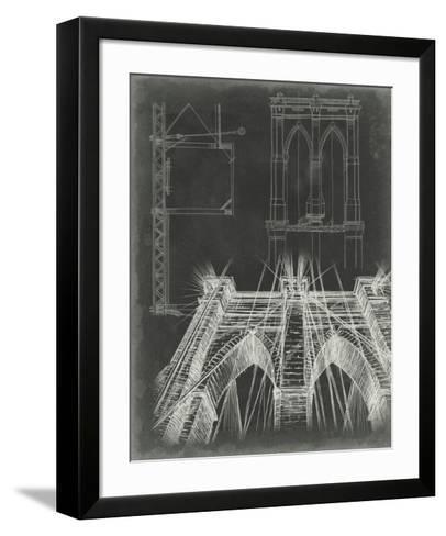 Iconic Blueprint IV-Ethan Harper-Framed Art Print