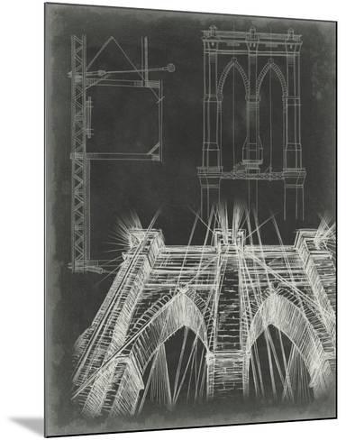 Iconic Blueprint IV-Ethan Harper-Mounted Giclee Print