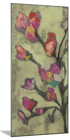 Impasto Flowers I-Jennifer Goldberger-Mounted Giclee Print