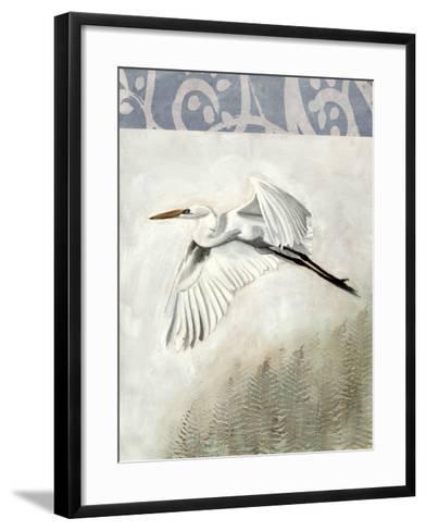 Waterbirds in Mist II-Naomi McCavitt-Framed Art Print
