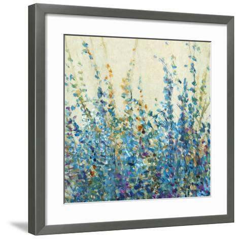 Shades of Blue II--Framed Art Print