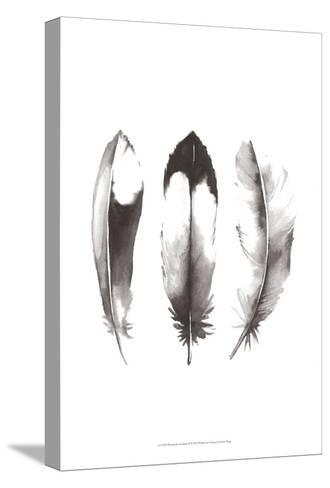 Watercolor Feathers II-Grace Popp-Stretched Canvas Print
