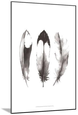 Watercolor Feathers II-Grace Popp-Mounted Art Print
