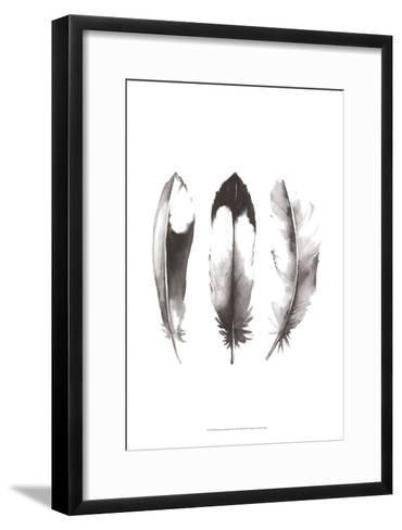 Watercolor Feathers II-Grace Popp-Framed Art Print