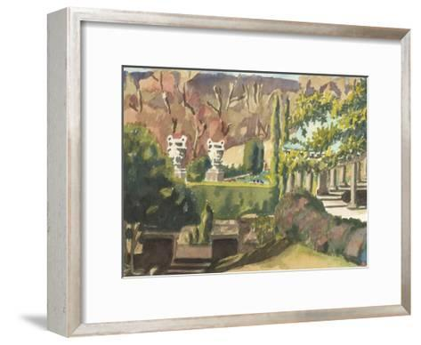 Watercolor Garden II-Dianne Miller-Framed Art Print