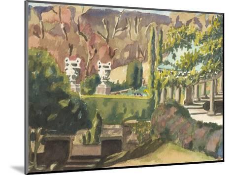 Watercolor Garden II-Dianne Miller-Mounted Art Print