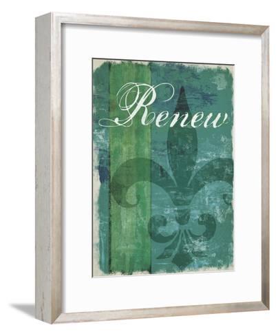 Renew - Unwind I--Framed Art Print