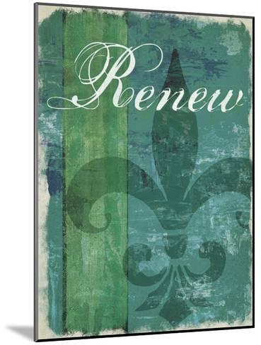 Renew - Unwind I--Mounted Art Print