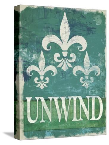 Renew - Unwind II--Stretched Canvas Print